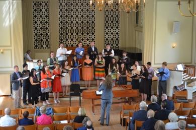 Westminster Kantorei at Chapel Service