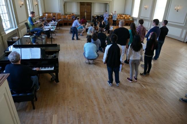 Spoleto Rehearsal