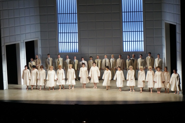 Le Villi Curtain Call.  I'm the second from the left!